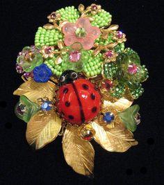 Stanley Hagler Ian St. Gielar Ladybug Pin