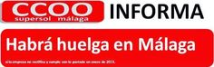 CCOO Supersol Málaga: Habrá huelga en Málaga si la empresa no cumple sus...