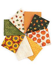 Fabric - Harvest Song Fat Quarters - 8/pkg. - #276445