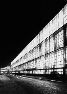 Olivetti factory extension, Ivrea, Luigi Figini/Gino Pollini, 1939–40