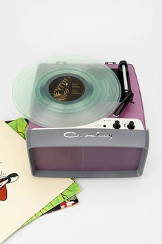 Crosley UK Collegiate USB Turntable at Urban Outfitters