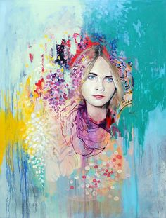 Pastel portraits by Emma Uber