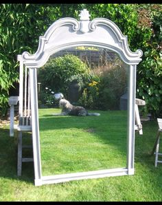 Huge mirror display piece ,can be written on with chalk pen or seating table plan fixed onto .dress with flowers  Hire fee £20 Cambridgeshire weddings,events parties