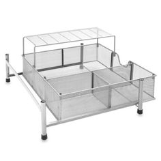 ORG Under The Sink Mesh Slide Out Storage Drawer Or