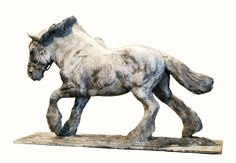 """""""Rolling Thunder""""- by Rod Zullo FNSS, Bronze ~ 16"""" x 18"""""""
