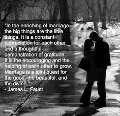 marriage is a joint quest for the good, the beautiful, and the divine...
