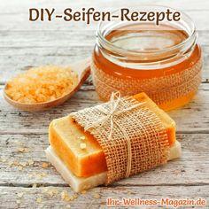 Seife herstellen - Honigseife selbst machen