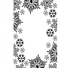 """Darice 4.23"""" x 5.75"""" Embossing Folders - Snowflake Trim - 4.23"""" X 5.75"""" Embossing Folders from Crafter's Companion UK"""