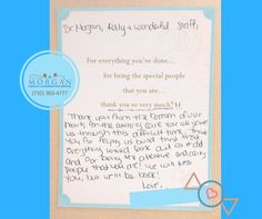 #IVF #Testimonial: Oh how we love to receive notes like this one from patients! We loved being part of your success and can't wait to do it all over again when you're ready!   SHOUT OUT to Nurse Kelly and our entire team for going above and beyond for this patient, and all our patients day in and day out!
