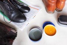 Poznaj prosty przepis na domowy krem do butów - pastę, która chroni i pielęgnuję obuwie, a przy okazji poprawia wyblakły kolor i maskuje przetarcia.