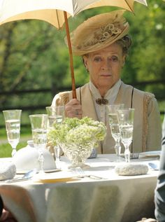 The Dowager Countess is not amused. Where will I go?
