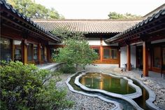 Korean water garden