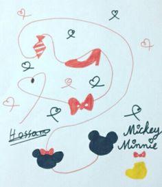 Mickey and Minnie ❤❤