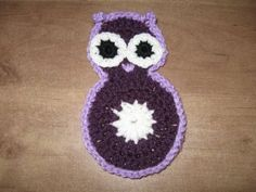 Crocheted Owl Motif Tutorial