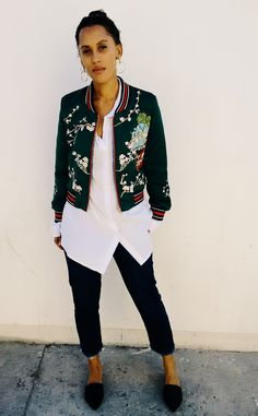 ROSEGAL EMBROIDED JACKET