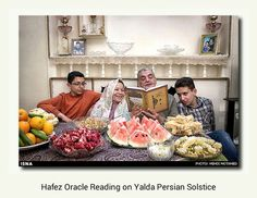 Hafez Oracle Reading on Yalda Persian Solstice