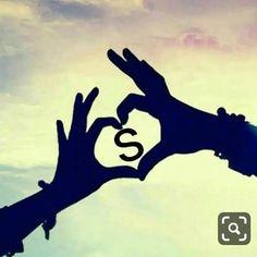 one images with name Love Images With Name, Love Heart Images, Love Couple Images, Cute Couple Art, Love Photos, S Letter Images, Alphabet Images, S Alphabet, Miss U My Love