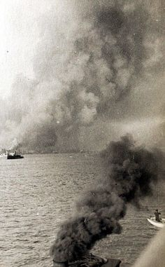 Photographs taken by WWI sailor show The Halifax explosion | Daily Mail Online