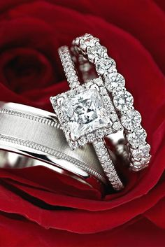Must Know: 4 Engagement Ring Trends ❤ See more: http://www.weddingforward.com/engagement-ring-trends/ #engagement #rings #trends
