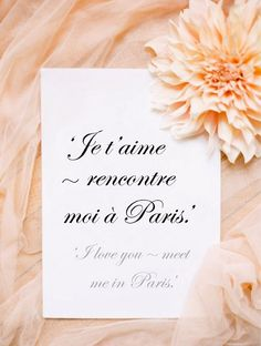 ♔ I love you ~ meet me in Paris