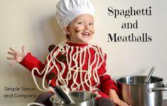 Rae Gun Ramblings: Handmade Halloween: Spaghetti and Meatballs Costume Tutorial from Simple Simon and Co
