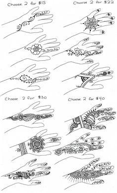 Mehendi design Tutorials for beginners