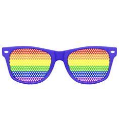 Sonnenbrille Rainbow, 10€ - purple glasses