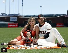Brandon Crawford and family
