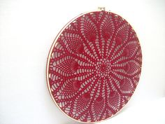 Embroidery Hoop Art Handmade Lace House By Mydreamcrochets, embroidery ...1500 x 1125 | 403.6 KB | indasro.com