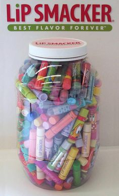 Lip Smacker Giveaway Guess how many Lip Smackers are in the jar & WIN them ALL Ends This competition has ended Lip Care, Body Care, Face Care, Eos Lip Balm, Lip Balms, Love Lips, Baby Lips, Cute Makeup, Hair Makeup