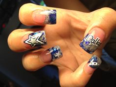 I'm not a Dallas Cowboys fan but the design is still cute!