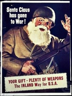 Everybody helped out during WWII--even Santa Claus!