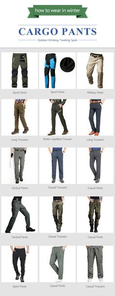How to wear in winter/fall outwork.Stock your closet with these cargo pants. Plus examples.