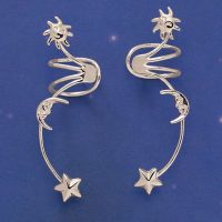 Celestial ear cuffs at www.pyramidcollection.com