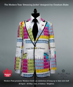 Periodic table sweater fashion style pinterest periodic the modern toss periodic table swearing jacket designed by gresham blake urtaz Images