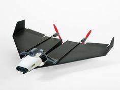 FRACTAL estudio + arquitectura: PowerUp FPV, un dron que reinventa el tradicional avión de papel