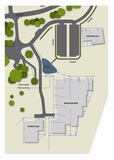 Figure 1 Bushloe School Site Map