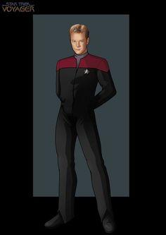 lieutenant tom eugene paris by nightwing1975.deviantart.com on @deviantART