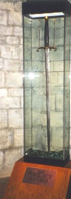 The Sword of William Wallace @ The National Wallace Monument in Stirling, Scotland