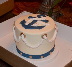 Grooms Cake For my beautiful Navy Grandson.