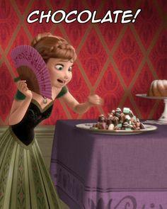 Chocolate nunca é demais! Kkkkkk