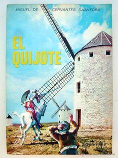 EL QUIJOTE / CERVANTES/ ED. LUIS VIVES 1973 / 1ª EDICION / ILUSTRADO