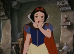 Snow White gasp
