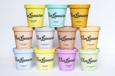 """Check out this @Behance project: """"Van Leeuwen Artisan Ice Cream, Identity and Packaging"""" https://www.behance.net/gallery/54116025/Van-Leeuwen-Artisan-Ice-Cream-Identity-and-Packaging"""