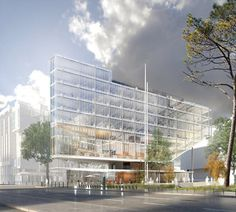 Renzo Piano Building Workshop - Projects - By Type - Maison des Avocats