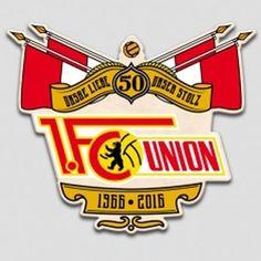 1.FC Union Berlin (50°) 1 Fc Union Berlin, 1.fc Union, Badges, Tattoo, Football Soccer, Badge, Tattoos, Tattos, A Tattoo