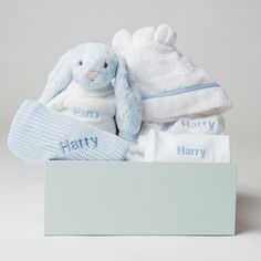 BABY BOY //GIRL  SUPER SOFT REVERSIBLE BLANKET//WRAP IN PRESENTATION BOX
