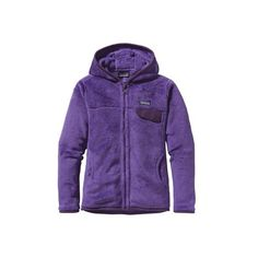 Women's Patagonia ReTool Full-Zip Hoody - Violetti/Tempest Purple... ($159) ❤ liked on Polyvore featuring purple and patagonia