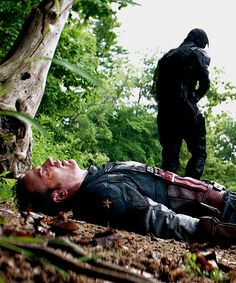 Don't you dare leave, JAMES BUCHANAN BARNES YOU GET BACK HERE RIGHT THIS INSTANT YOUNG MAN <--- It's funny because he's old << Hahaha! Still, Bucky. Stay.