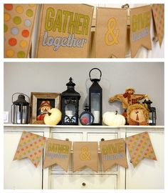 eighteen25: Gather Together & Give Thanks Banner